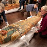 В єгипетських саркофагах виявили приховані зображення Господа Небес
