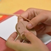 У Луцьку особливі діти виготовляли медальйони добра з глини
