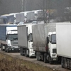 На кордоні Білорусі і Волині – черга зі 70 вантажівок