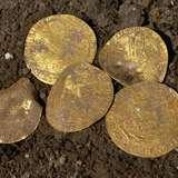 У Британії знайшли скарб середньовічних золотих монет
