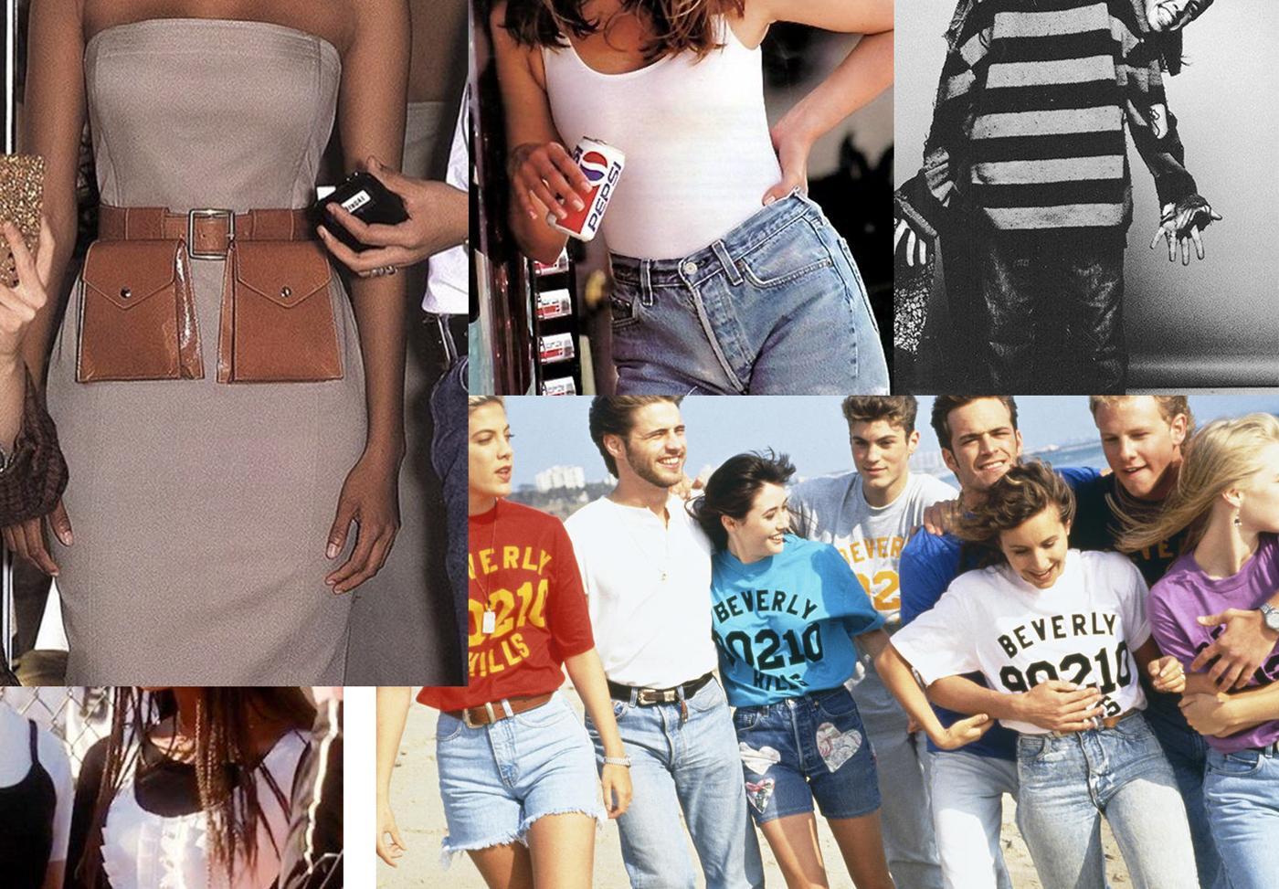 Мода 1990-х: спорт і героїновий шик