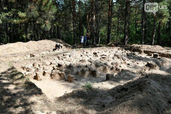 На Хортиці знайшли стародавнє святилище