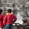 У Луцьку з'явилася велика настінна панорама замку XVI століття