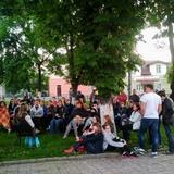 Вечірні посиденьки у старому Луцьку