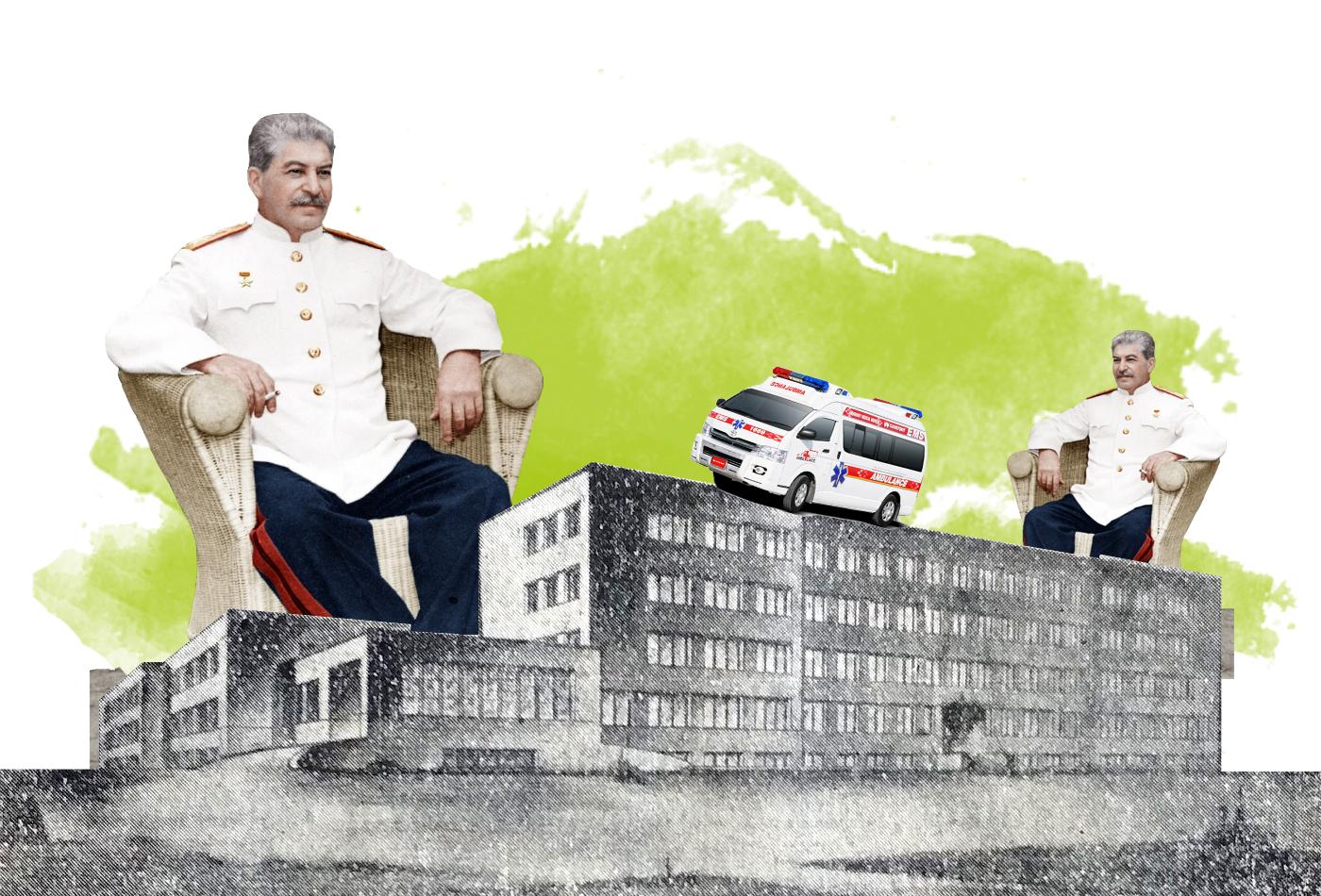 «Сталінське піклування про живу людину»: з історії луцької лікарні