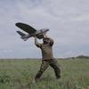 На окупований Донецьк українські патріоти скинули з безпілотника тисячі листівок