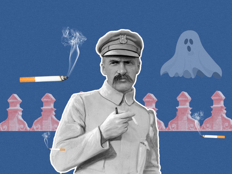 Пілсудський в Луцьку роздавав румунські цигарки і розказував про привидів