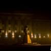 Туманний Луцьк у світлі нічних ліхтарів. ФОТО