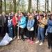 Близько 600 мішків сміття зібрали під час толоки у луцькому сквері