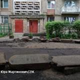 У Львові під час ремонту виявили дорогу, викладену з мацев