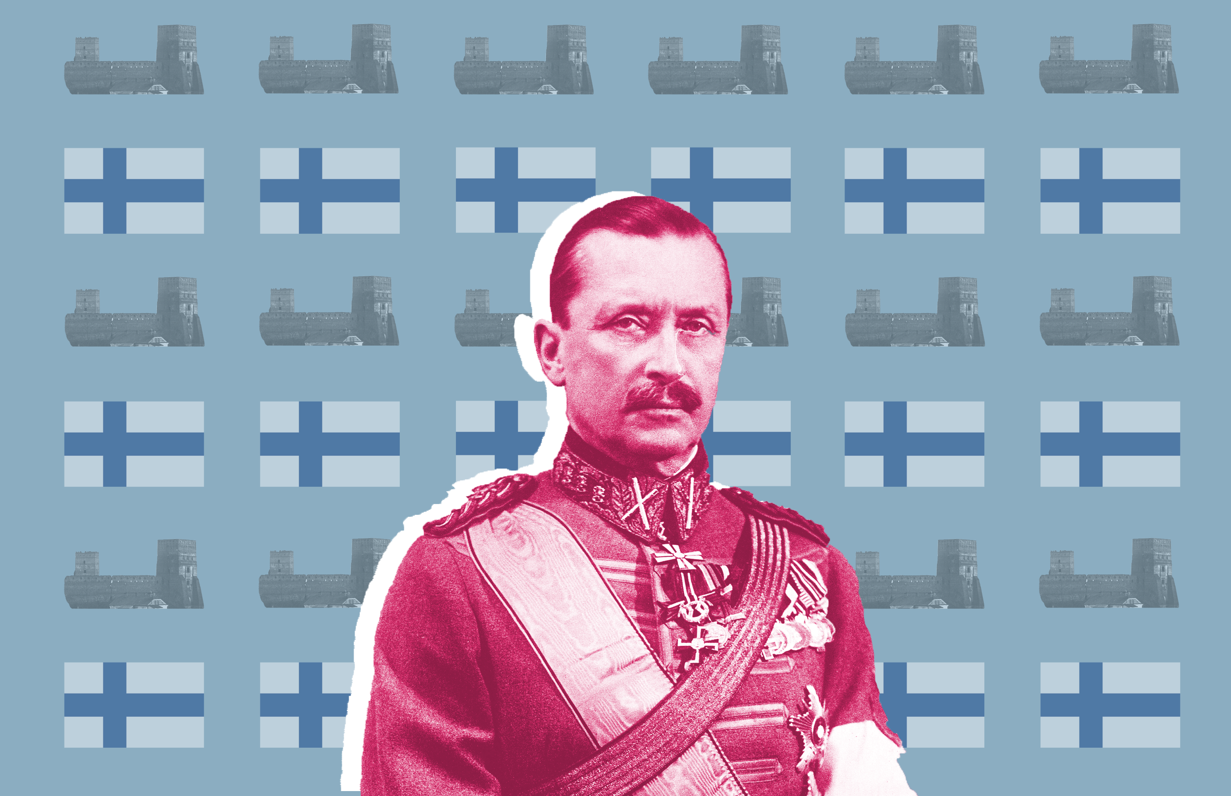Як майбутній маршал і президент Фінляндії воював на Волині