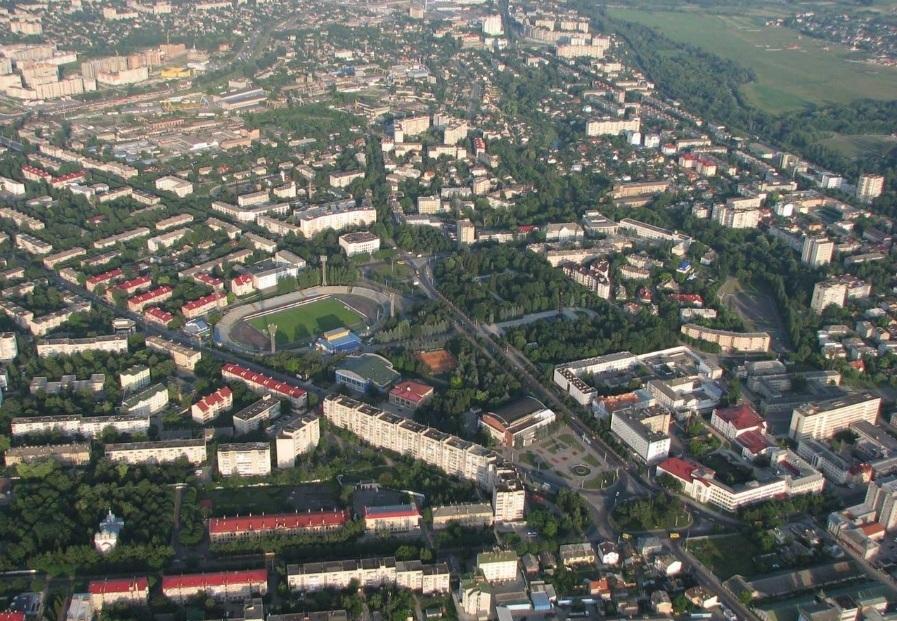 Супутник онлайн: як змінився Луцьк за 32 роки