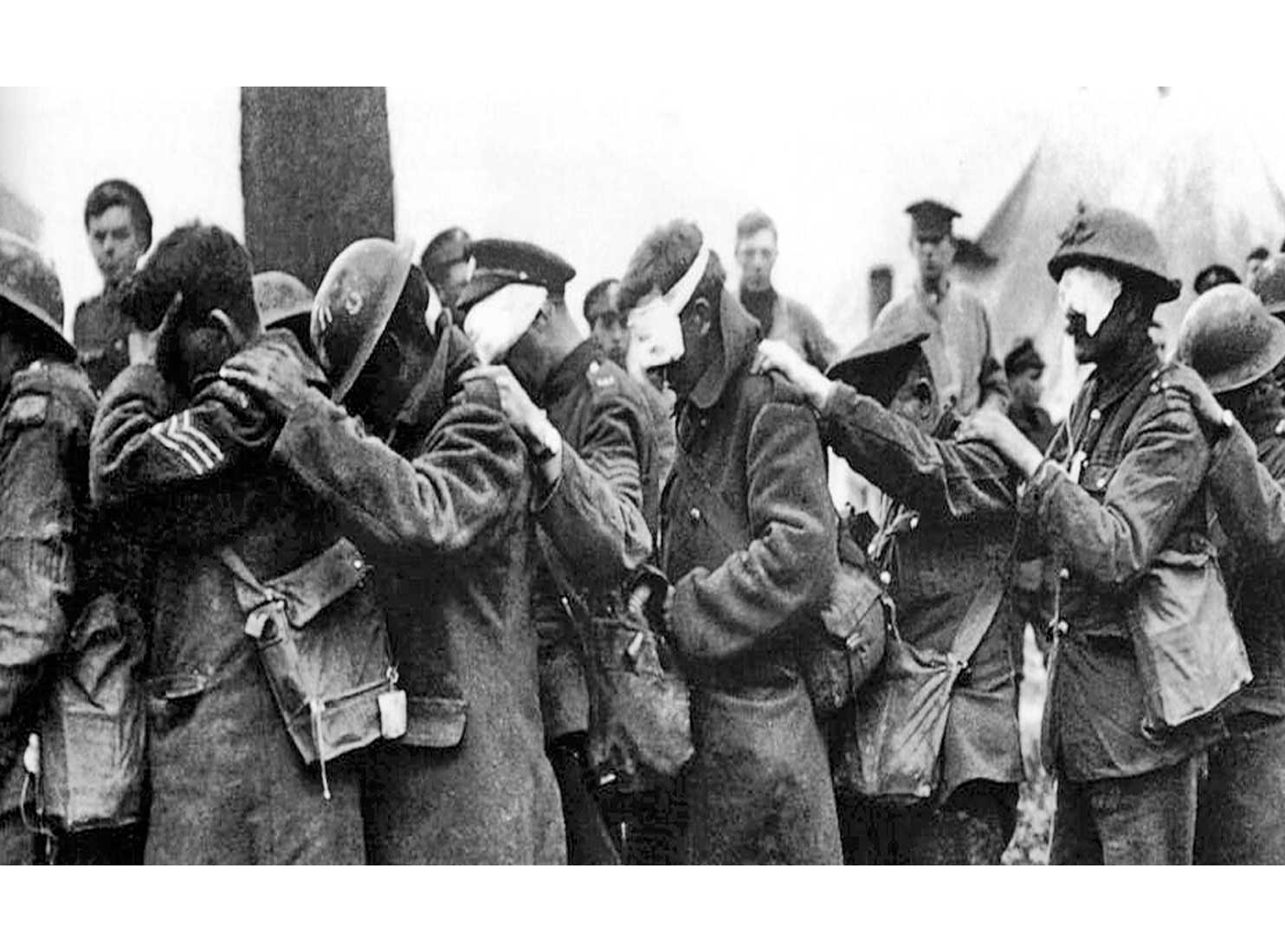 1915: перша газова атака