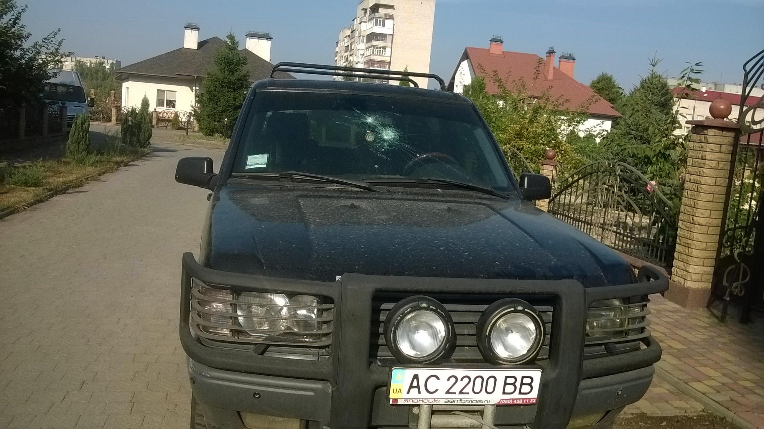 Депутату Валерію Бондаруку спробували підпалити авто