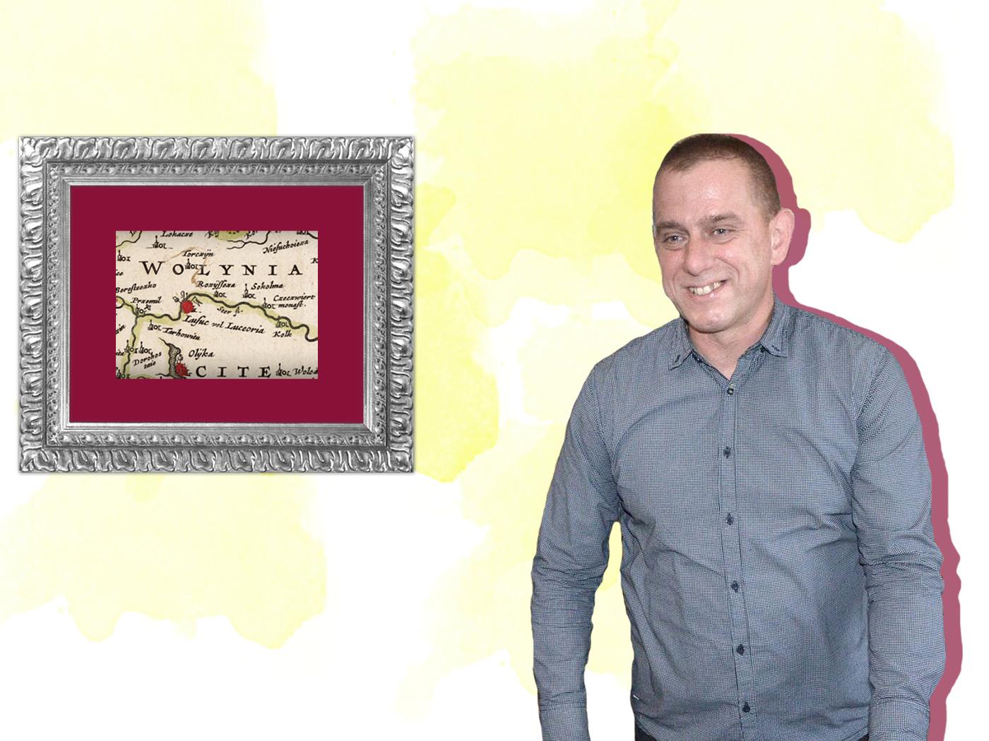 Мапи і поштівки. Луцький колекціонер про артефакти минулого