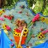 Луцький парк прикрасили квітковими композиціями