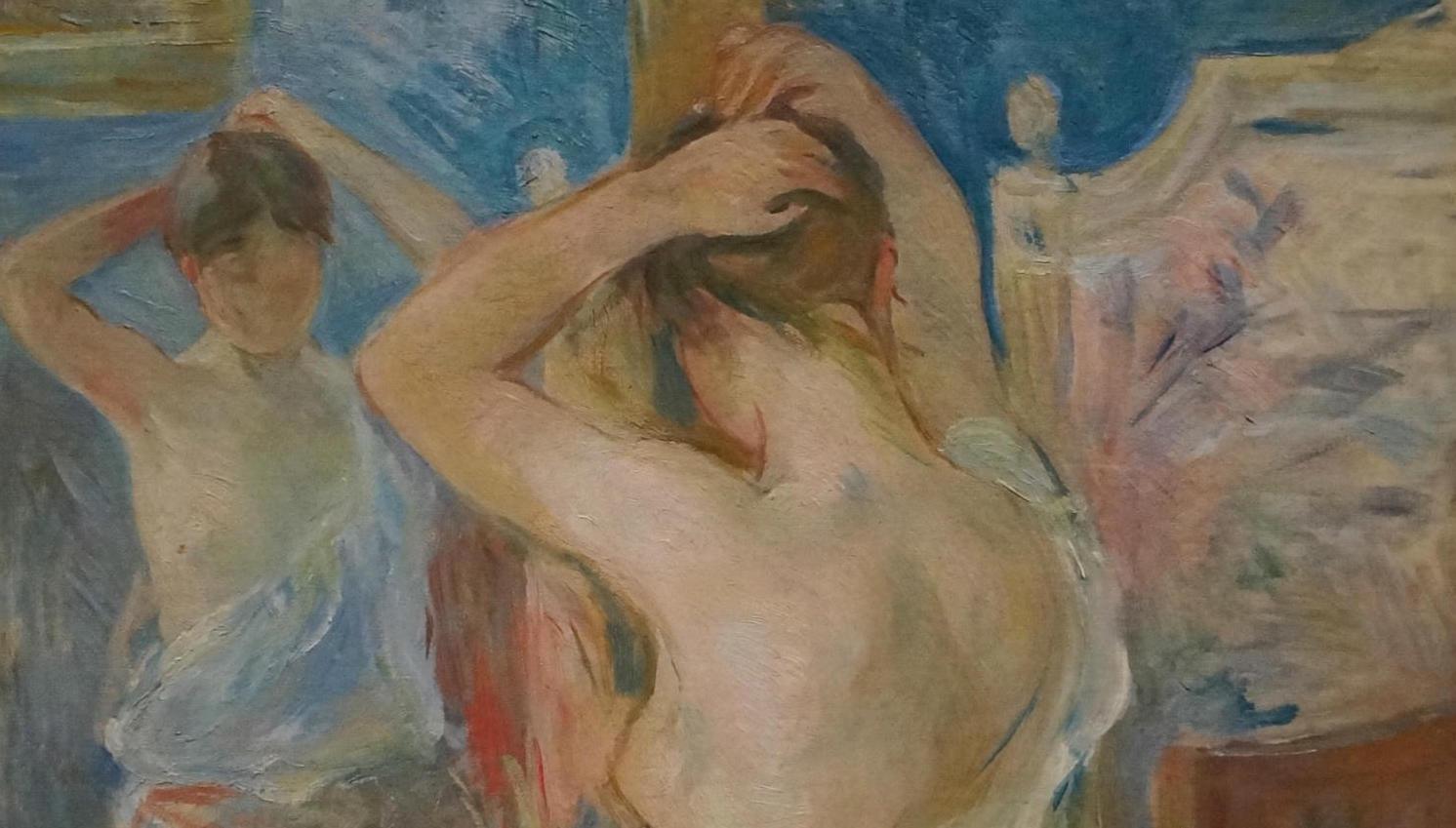 Що змінилося у сценах догляду за собою в живопису XIX століття