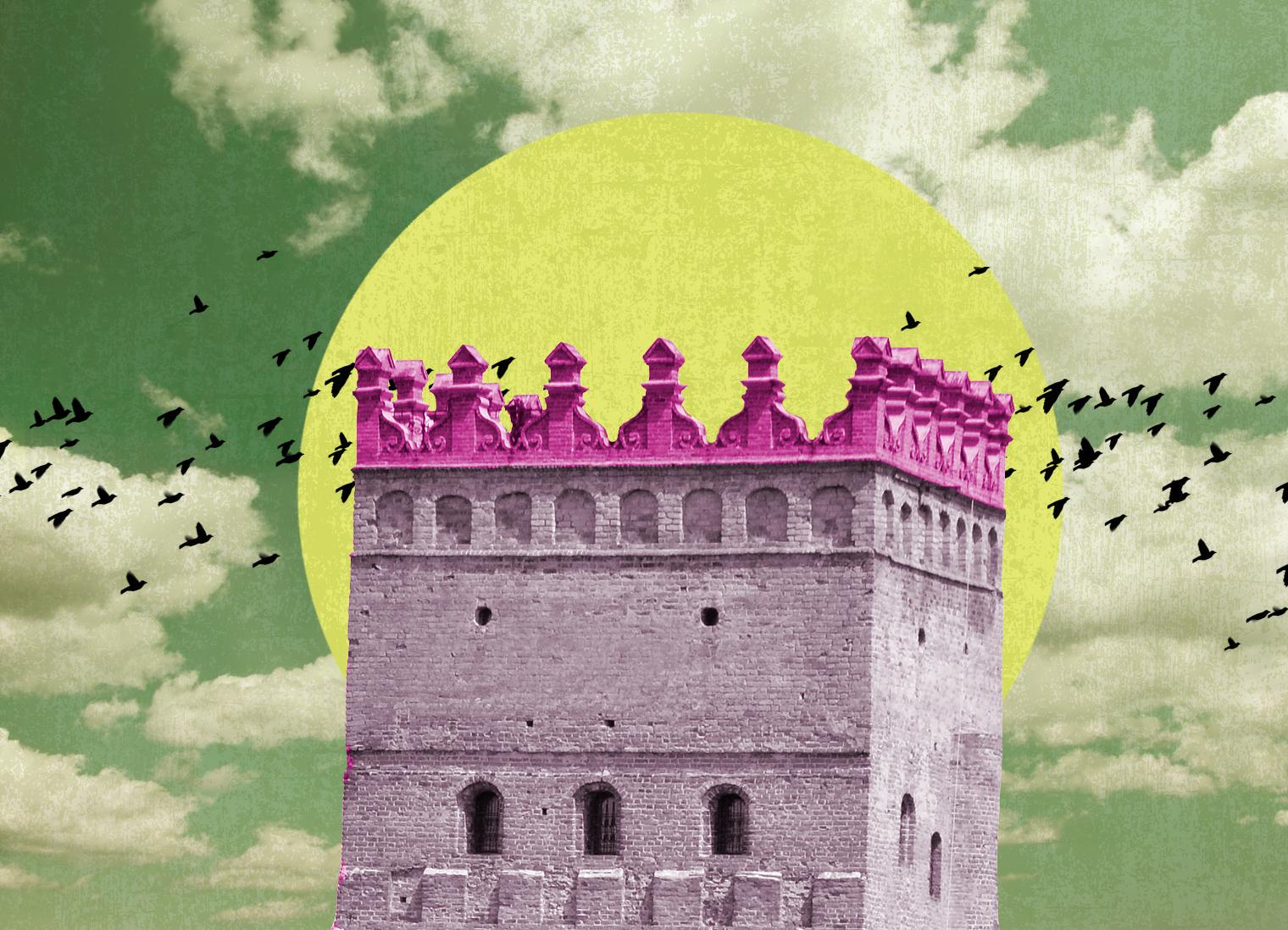 Чому дві башти замку Любарта завершуються прикрасами бароко