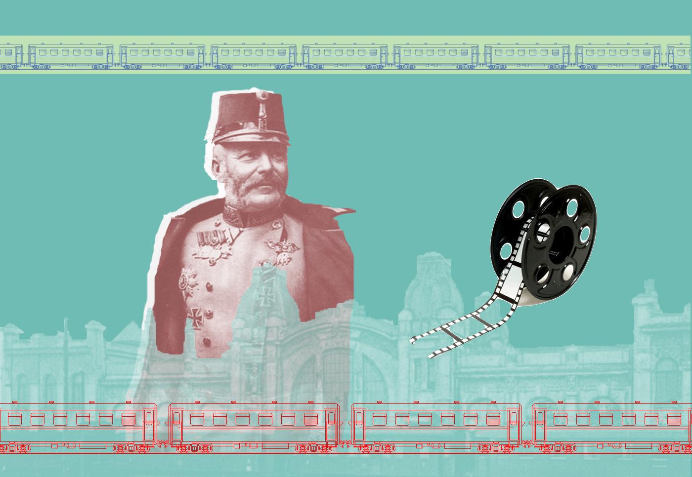 Фрідріх Австрійський відвідує ковельський вокзал у 1915. ВІДЕО