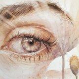 Бельгійська мисткиня створює надзвичайно реалістичні малюнки очей