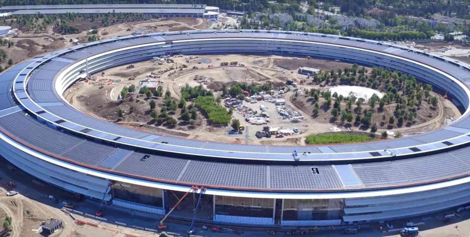 Відео: як нова штаб-квартира Apple виглядає за кілька місяців до завершення