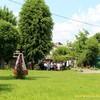 У Луцьку одні мешканці – проти огорожі навколо церкви, інші – за