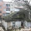 У центрі Луцька знесли аварійну будівлю