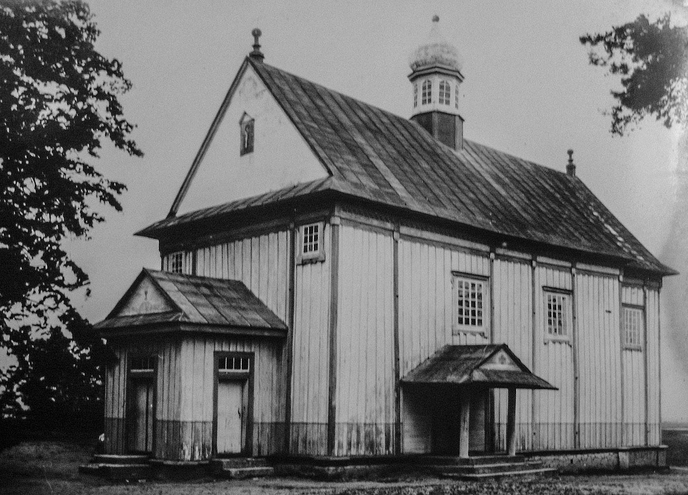 Храми Волині: церква в селі Бузаки