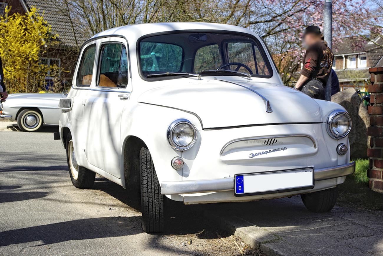 Запорізький автозавод випустив першу партію горбатих «Запорожців»