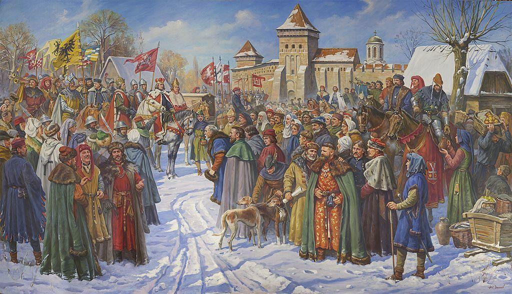 Пам'ять міста: Європейський з'їзд монархів у баченні лучан кінця ХVIII століття