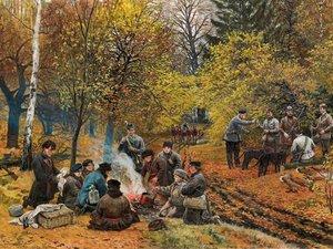 Про англійського генерала, Радзивіллів та полювання на Поліссі 100 років тому