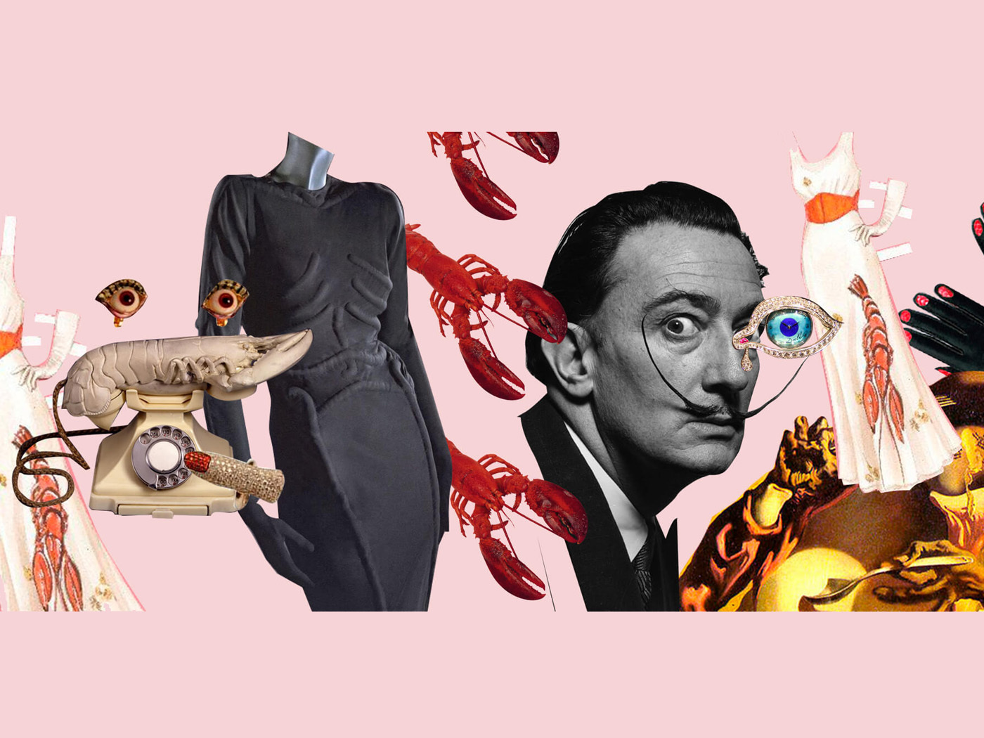 Сюрреалізм на практиці: 7 модних ідей Сальвадора Далі та Ельзи Скіапареллі
