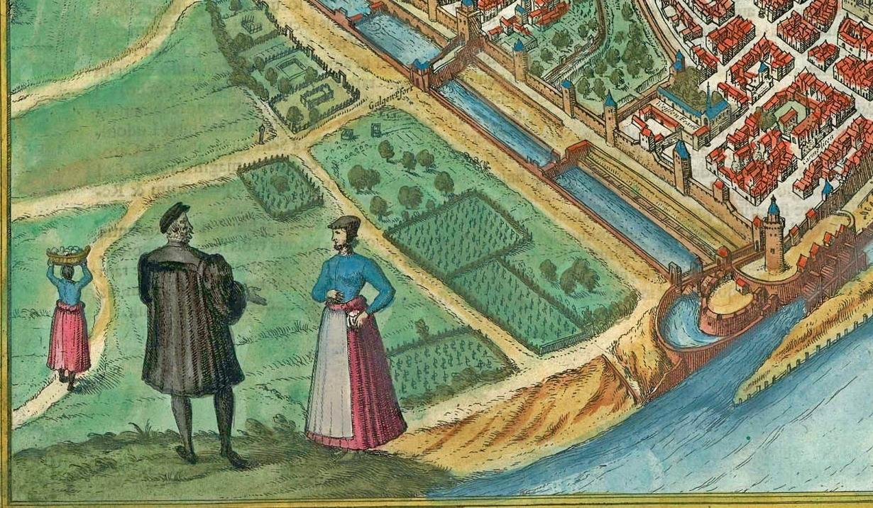 Розмова посеред Ринкової площі 400 років тому