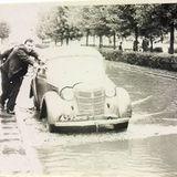 Затоплений проспект у Луцьку - на фото 70-х років
