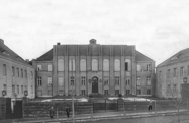 Палладіанський палац у центрі Луцька. Чистота стилю