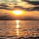 Неймовірний захід сонця над Світязем. Фото