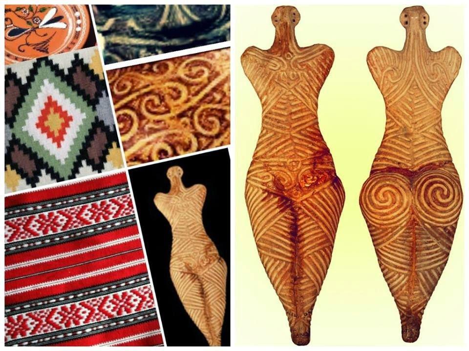 Як вбиралися племена трипільської культури