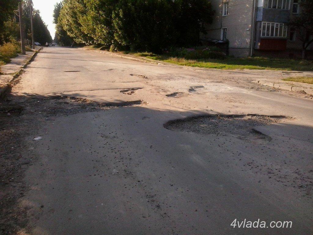 З'ясували, які вулиці у Луцьку - «найгірші»
