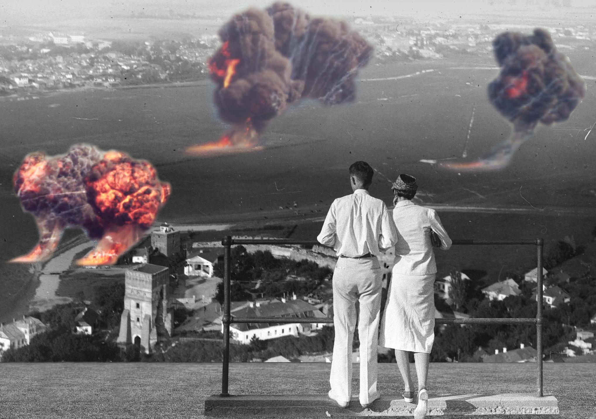 Луцьк у 1941. Перші дні війни
