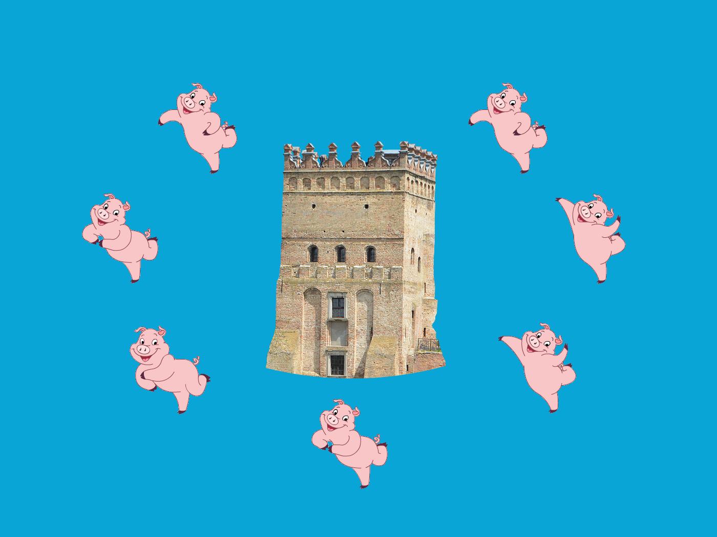 Лучани, не вигулюйте міських свиней без нагляду!