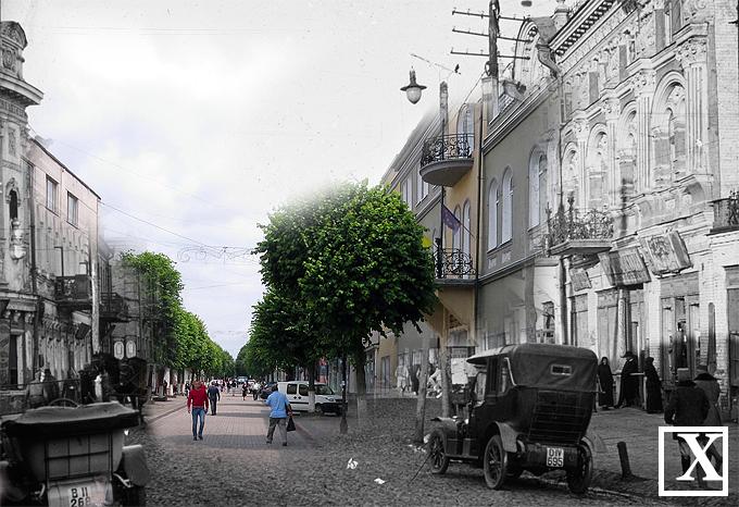 Вулиця Лесі Українки, справа - медколедж