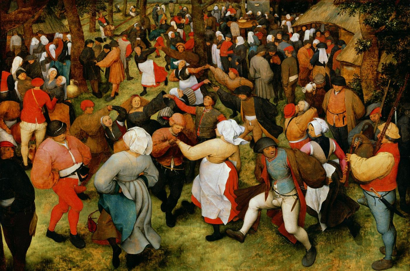 Епідемія танцю 500 років тому