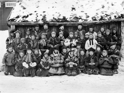 Дивовижні лапландці на фото ХІХ століття
