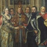 Унікальну картину вінчання волинського князя Радзивілла презентували у Львові