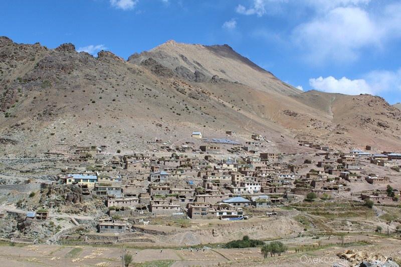 Одне з індійських сіл. Життя посеред пустелі