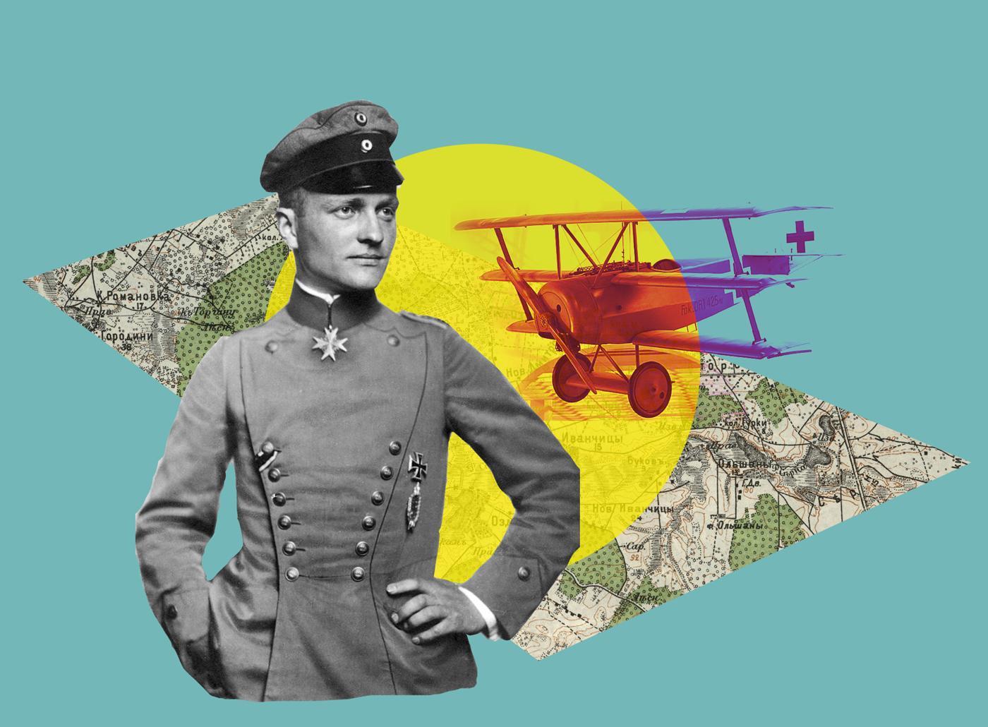Найкращий ас Першої світової – про напад на Маневичі
