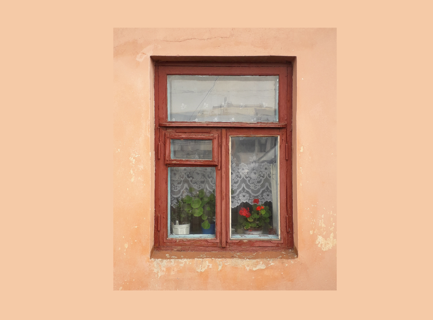 Дзен зі старого луцького вікна