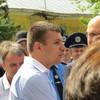 Гузь у Луцьку закликав нардепів не порушувати правила дорожнього руху