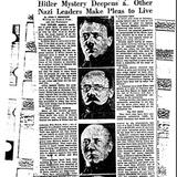 Спецслужби США розслідували можливу втечу Гітлера в Аргентину