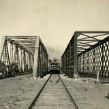 Стратегічний залізничний міст через Вижівку сто років тому